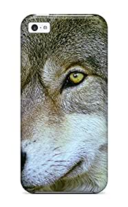 New Premium JoelNR Animal Wolf Skin Case Cover Excellent Fitted For Iphone 5c wangjiang maoyi