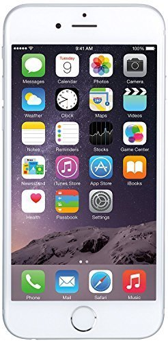 Apple iPhone 6 64GB Factory Unlocked GSM 4G LTE Smartphone, Silver (Certified