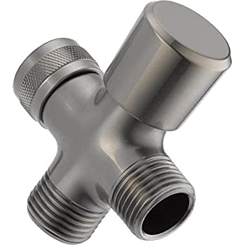 Delta Faucet U4923-SS-PK 3-Way Shower Arm Diverter, Stainless