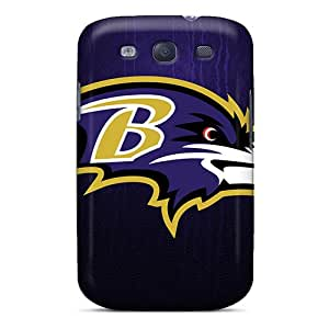 Samsung Galaxy S3 HVx9555dvmq Support Personal Customs Nice Baltimore Ravens Skin Best Hard Phone Cases -AaronBlanchette