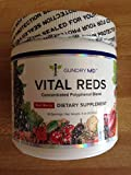 Vital Reds, Gundry MD Concentrated Polyphenol Metabolic Powder Blend 4 Ounce Jar