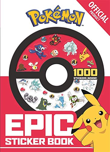 Pokémon Epic Sticker Collection: From Kanto to ()
