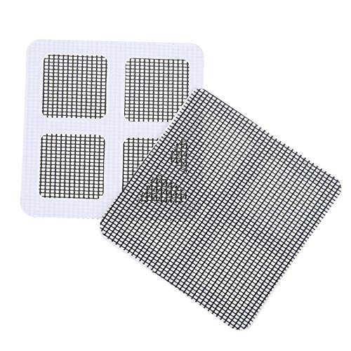 ️ Yu2d ❤️❤️ ️5 Pack Window and Door Screen Repair Patch Adhesive Repair Kit]()