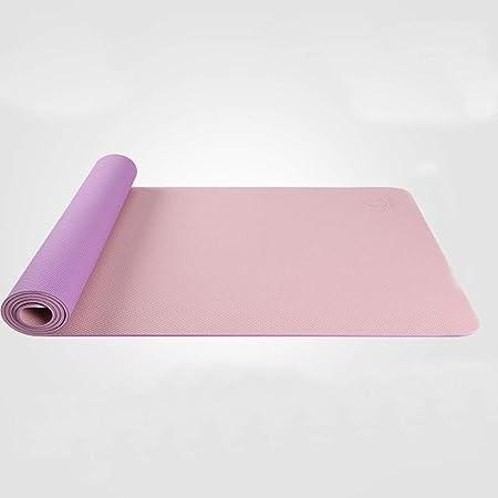 SHWSM Estera de Yoga 80 cm Estera de Yoga Engrosamiento de ...
