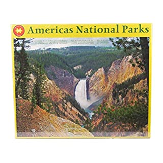 Yellowstone National Park Artist Point 1000 Piece Puzzles for Adults