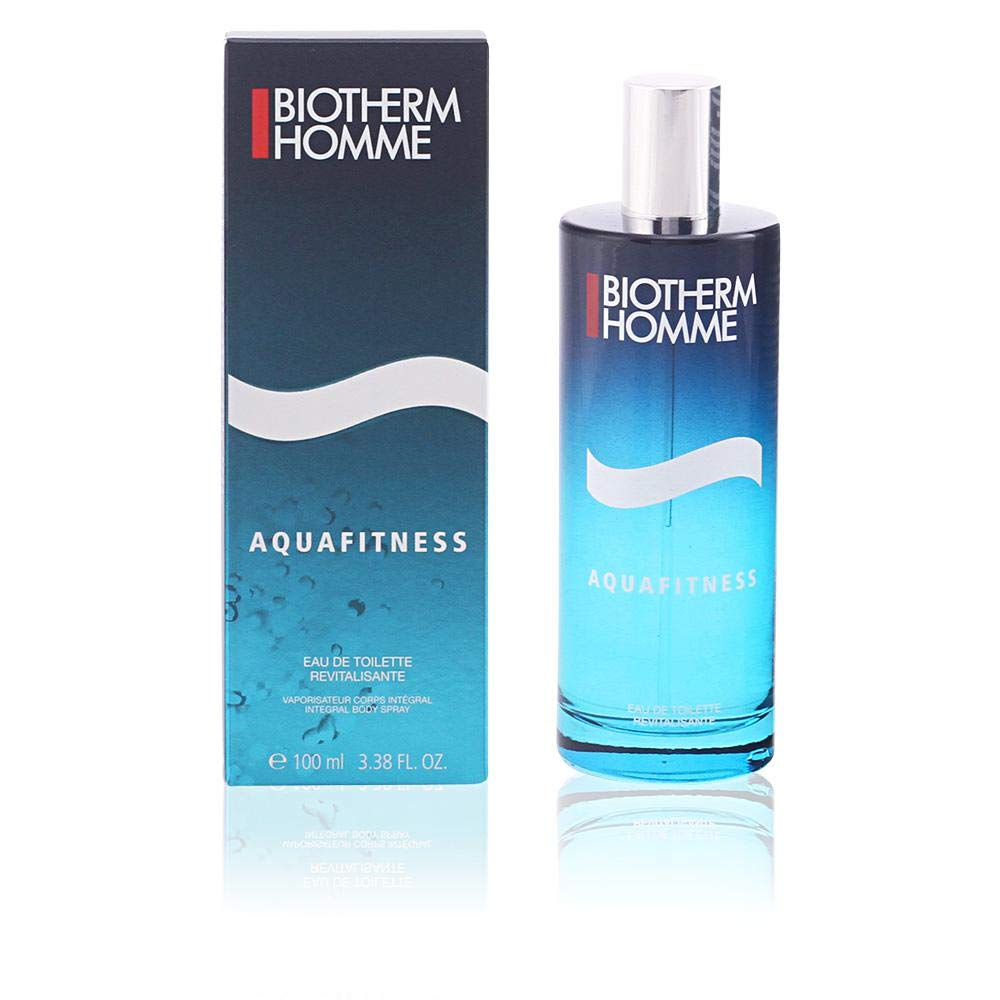 Biotherm Homme Aquafitness Eau de Toilette Vaporizador 100 ml: Amazon.es: Belleza