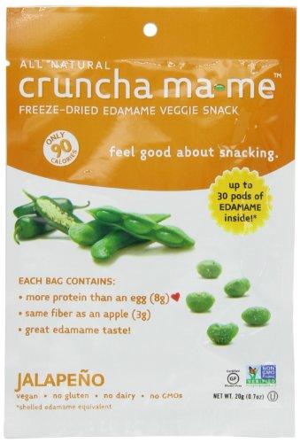 Cruncha ma-me Edamame Veggie Snack, 0.7 Ounce (Pack of 8)
