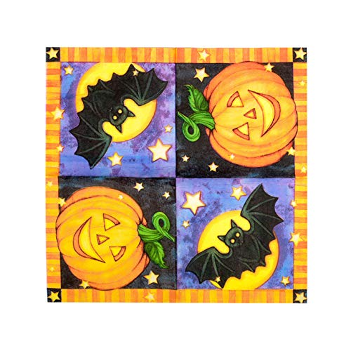 1 Pack Halloween Style Toilet Paper Tissue Napkin Prank Fun Birthday Party Novelty Gift Idea Pumpkin (1)
