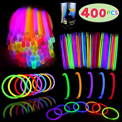 Pack Of Glow Sticks (Glow Sticks Bulk 400 8