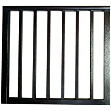 Contractor Deck Railing 36in x 36in Aluminum Residential Gate - Hammered Black