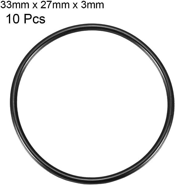 Menge 2 St/ück Dichtringe//O-Ringe 30 x 6 mm NBR 70