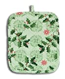 Sprigs of Festive Holly Holiday Kitchen Pot Holder