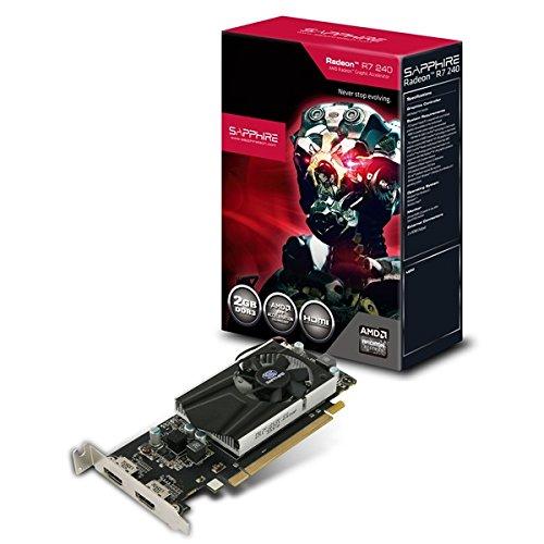 SAPPHIRE R7 240 2048MB DDR3 128bit PCI-E 2x HDMI Low Profile Lite Retail aktiv