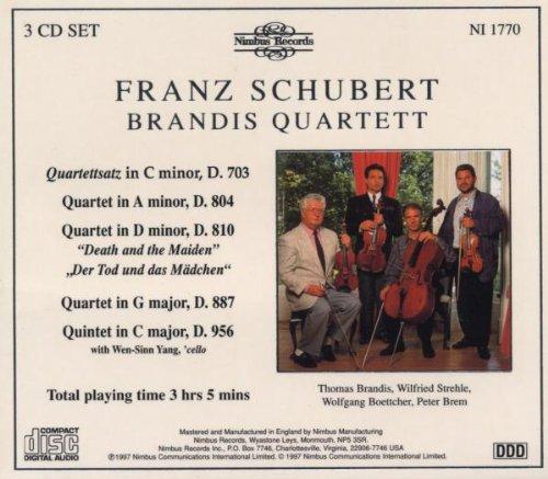 Schubert - Quatuors et quintette à cordes - Page 4 51gs7w%2BocpL