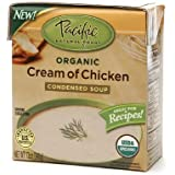 Pacific Natural Foods Soup, Condensed, Organic, Cream of Chicken, 12 Oz. (Pack of 6