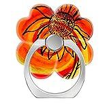 Pop Phone Ring Stand Holder 360°Rotation Reusable Ring Holder Finger Grip Universal socket Kickstand for All Cellphones Sunflower Art