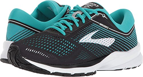 Brooks Women's Launch 5 Black/Teal Green/White 7.5 B US