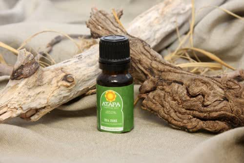 Tea Tree Essential Oil 100% Natural Undiluted Therapeutic Grade for Aromatherapy and Diffuser, Acne, Dandruff, Immune Stimulant, Fungi, Bacteria, Viruses, Cold, Measles, Sinusitis