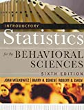 Introductory Statistics for the Behavioral Sciences, Sixth Edition with SPSS 15. 0 Set, Welkowitz, Joan, 0470440872