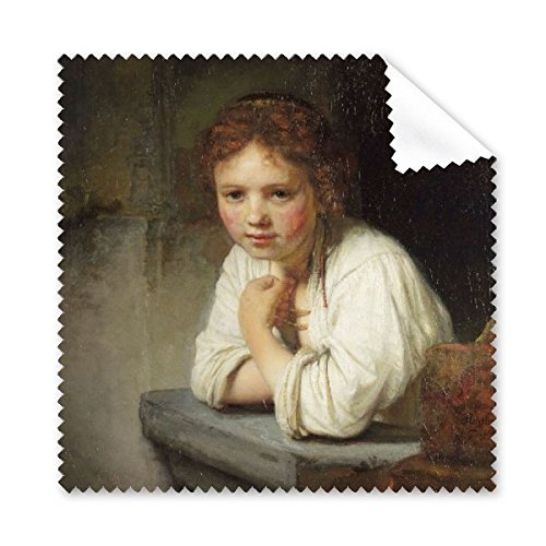 Maid Rembrandt Harmenszoon van Rijn Famous Oil Panintings Oils Glasses Cloth Cleaning Cloth Phone Screen Cleaner 5pcs