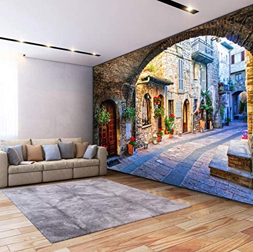 Details about  /3D City Alley Scenery 3277 Wallpaper Decal Dercor Home Kids Nursery Mural Home