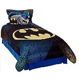DC Comics Batman Twin Comforter Set Great Gotham Bedding