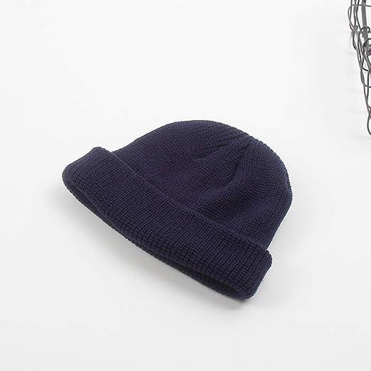 Sombrero de Lana Color sólido Tablero de luz versátil Sombrero de ...