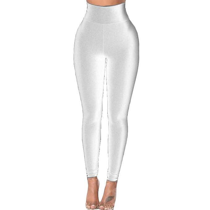 RYTEJFES Pantalones Mujer Pantalones De Yoga Retro Delgados ...