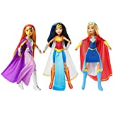 "3-Pack, DC Comics Super Hero Girls Intergalactic Gala 12"" Dolls Collection- Wonder Woman, Super Girl & StarFire"