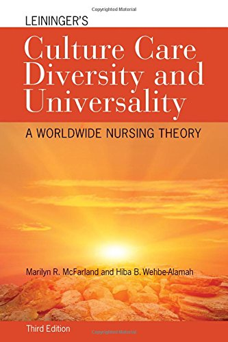 Leininger's Culture Care Diversity and Universality: A Worldwide Nursing Theory (Cultural Care Diversity (Leininger)) by McFarland Marilyn R