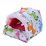 (US) Generic Hammock Hanging Bed Toy House Cage for Rabbit Guinea Pig Ferret Small Animals