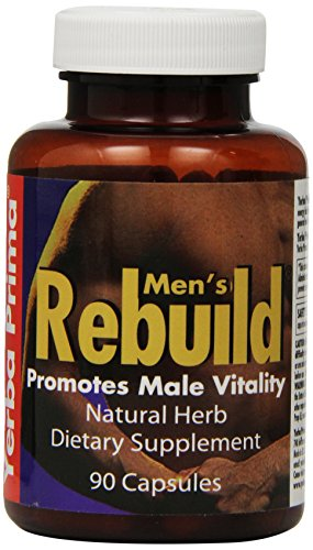 Yerba Prima Men's Rebuild Capsules, 90-Count Bottle Review
