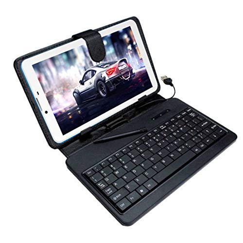 I Kall N2 Tablet with Keyboard (7 Inch, Dual Sim) (Blue)