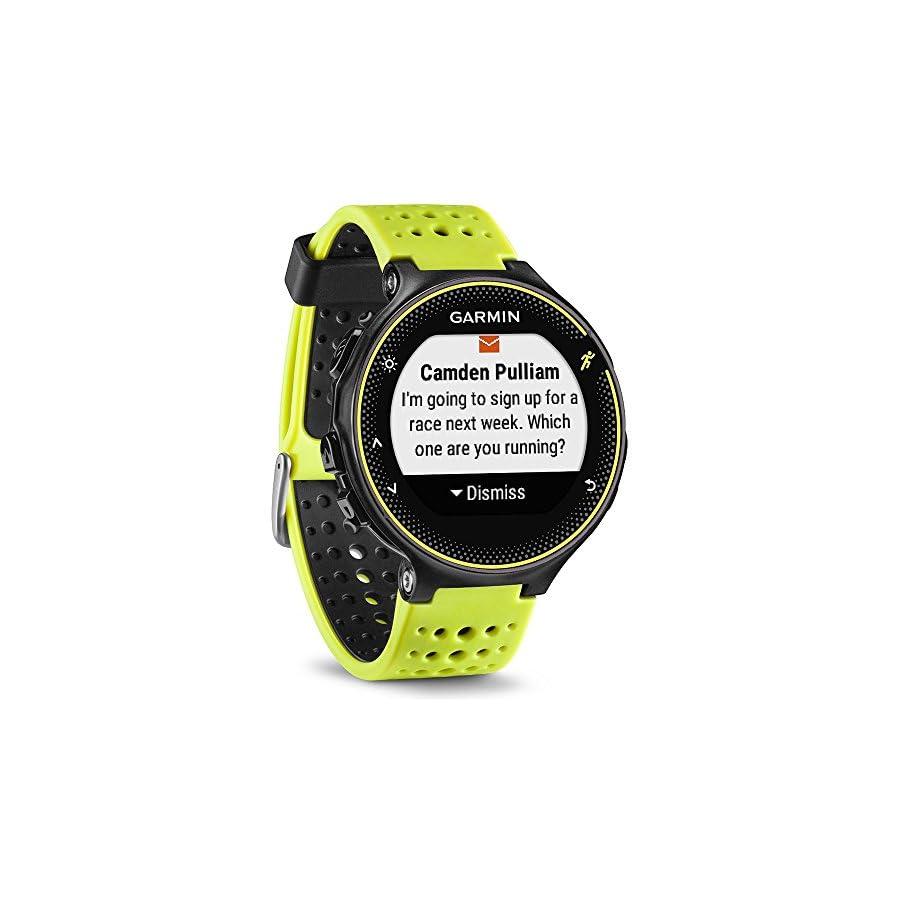 Beach Camera Garmin Forerunner 230 GPS Running Watch, Force Yellow (010 03717 50) Heart Rate Monitor