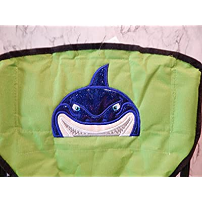 Personalized Shark Folding Chair (CHILD SIZE): Handmade