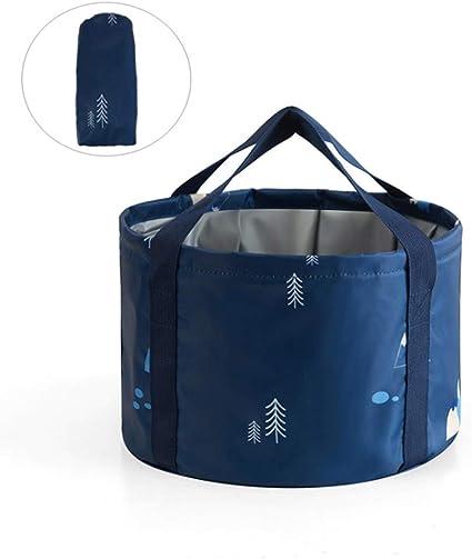 HOOYEE Multifunctional Collapsible Portable Travel Outdoor Wash Basin Folding Bucket for Camping Hiking Travelling Fishing Washing