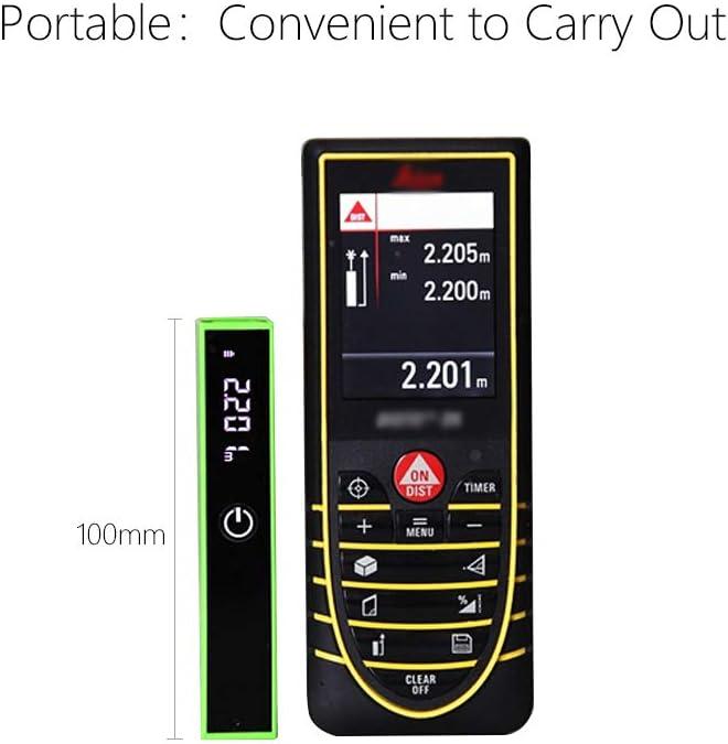 /área Rangefinder LCD retroiluminada Medida l/áser ONEVER Medidor de Distancia l/áser Digital 131FT // 40M Dispositivo de medici/ón l/áser con Distancia /única medici/ón de Volumen /ángulo VNT