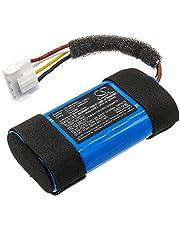 Replacement Battery for JBL Flip 5, JBLFLIP5WHTAM, Part No. 1INR19/66-2, ID1060-B