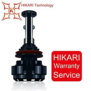 HIKARI Replacement Led Headlight Bulb - H11,Warranty Service(Single Pack)
