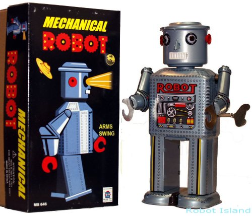 Giant R-35 Robot Tin Toy Windup by Robot Island (Image #1)