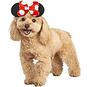 Rubie's Disney: Mickey Mouse & Friends Pet Costume Accessory, Minnie Mouse, S/M
