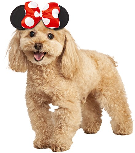 Rubie's Disney: Mickey Mouse & Friends Pet Costume Accessory, Minnie Mouse, M/L