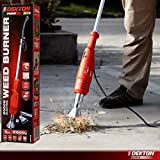 DEKTON 2000W Electric Weed Burner Killer Wand with 4 Heads - Hot Air Blaster Torch 650°c No Gas Chemical Free/No Chemicals - 100% Safe
