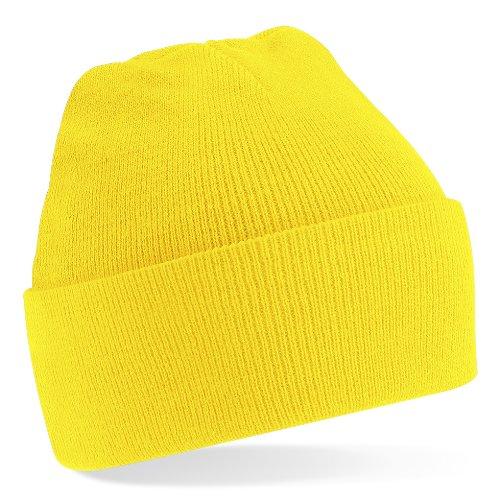Beechfield–Gorro de punto Amarillo - Amarillo