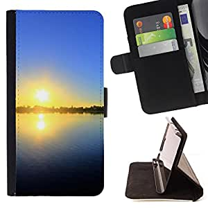 DEVIL CASE - FOR Samsung ALPHA G850 - Sunset Beautiful Nature 27 - Style PU Leather Case Wallet Flip Stand Flap Closure Cover