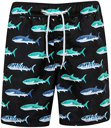 (Snapper Rock Boys Boardies (Shark, 3))