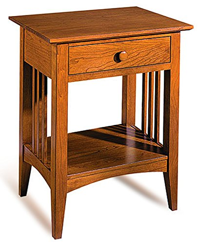 Build-Your-Own Mission Contemporary Nightstand Plan - American Furniture Design (PLAN ONLY)