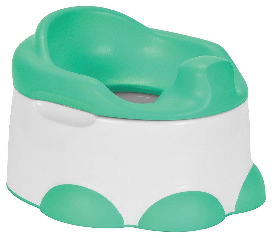 Vital Innovations 05505-02 Bumbo Step ´n Potty - 3in1 Schemel und Töpfchen, grün grün