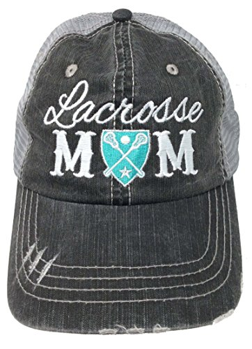 Katydid Lacrosse Mom Womens Trucker Hat-grymnt