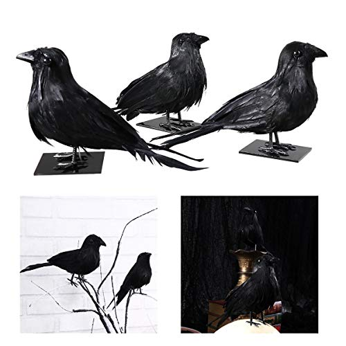 Party Diy Decorations - 3pcs Simulation Realistic Feathered